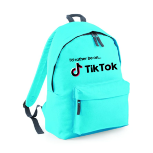 I'd rather be on Tik Tok backpack