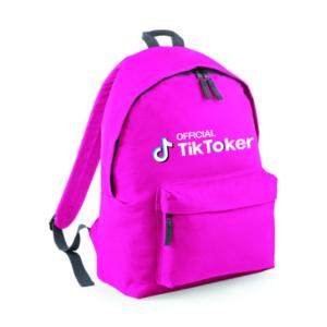 'Official Tik Toker' Backpack