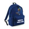 'Where we gonna land' Backpack