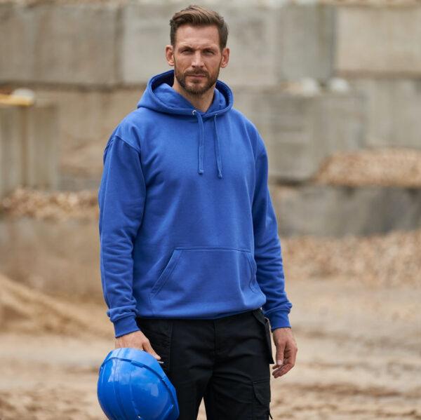 Work wear Hoodie royal blue