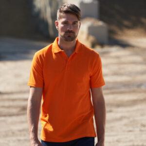 Workwear Polo Orange